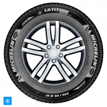 Michelin 235/50 R19 103V Latitude Alpin LA2 Extra Load XL GRNX
